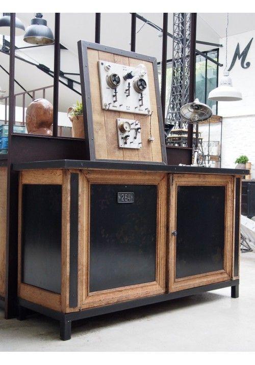 Id e relooking cuisine mobilier leading inspiration cul - Customiser un vestiaire metallique ...