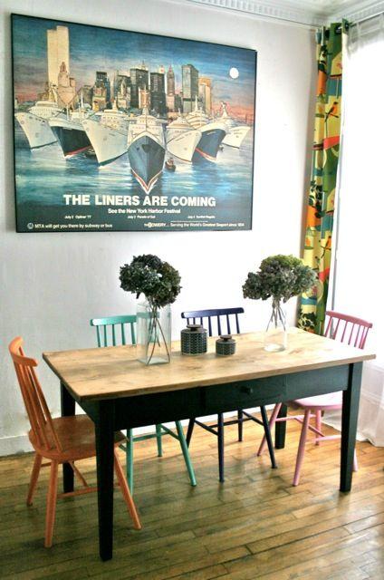 id e relooking cuisine table de ferme ancienne. Black Bedroom Furniture Sets. Home Design Ideas