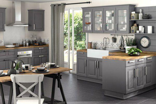 id e relooking cuisine une cuisine lapeyre mod le de style et confort. Black Bedroom Furniture Sets. Home Design Ideas