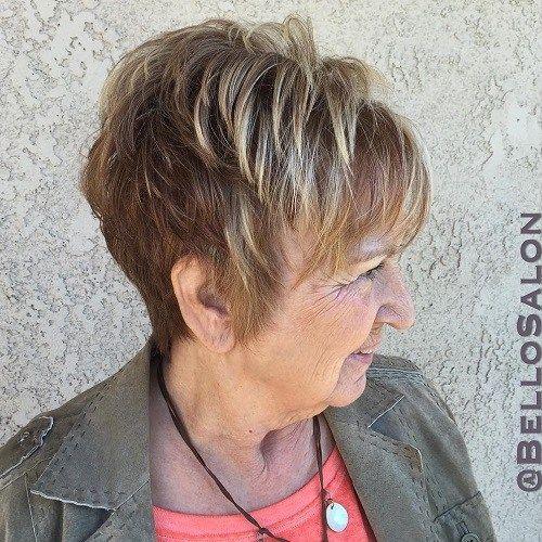 Coiffures de femmes pour les cheveux longs pour les personnes ГўgГ©es