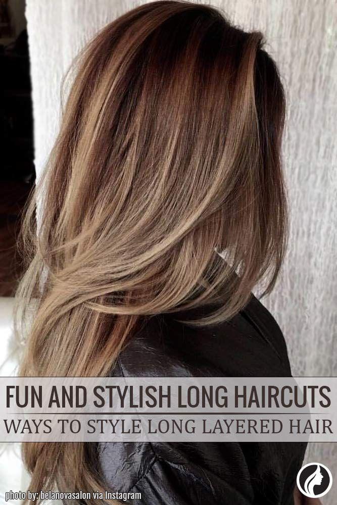 Nouvelle tendance coiffures pour femme 2017 2018 coups de cheveux longs amusants et l gants - Tendance coiffure 2017 2018 ...