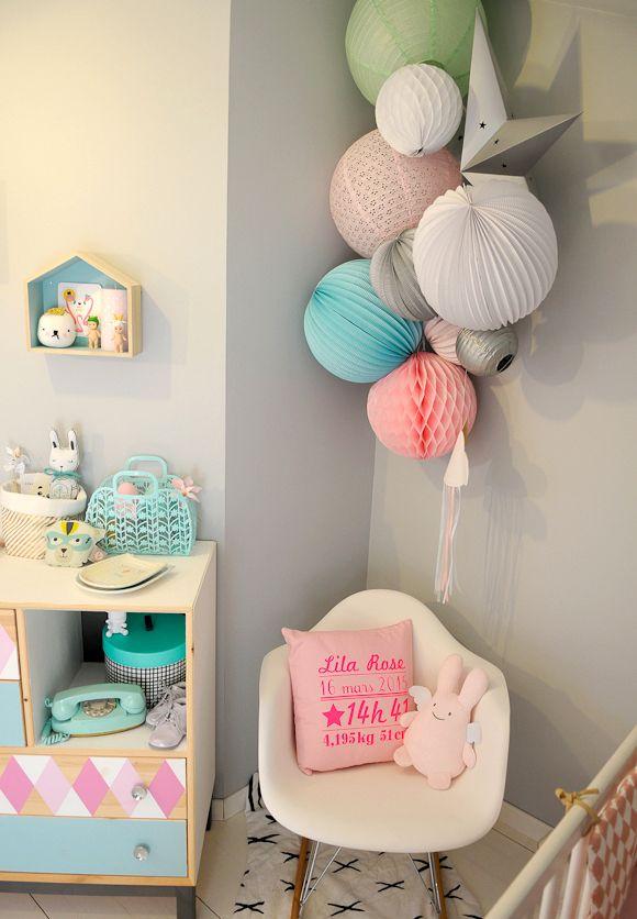 Relooking et décoration 2017 / 2018 - Chambre bébé grise avec des ...