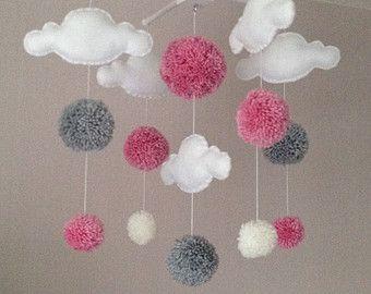 Relooking et d coration 2017 2018 nuages cot mobile Deco chambre bebe nuage