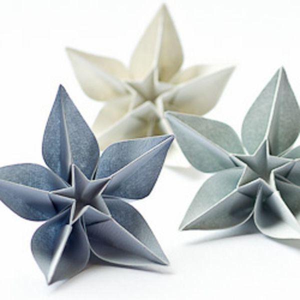 relooking et d coration 2017 2018 origami facile fleur leading. Black Bedroom Furniture Sets. Home Design Ideas