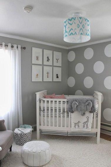Relooking et décoration 2017 / 2018 - Petite chambre bebe fille gris ...