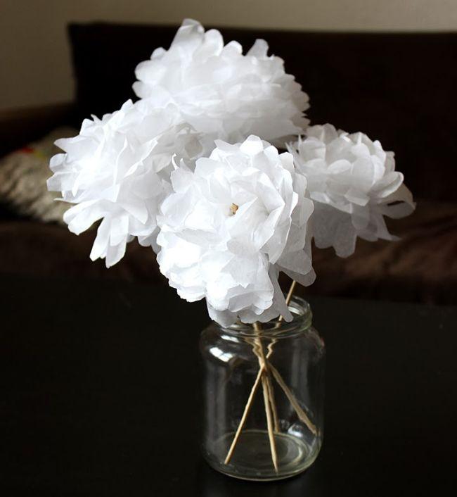 relooking et d coration 2017 2018 tuto le bouquet de fleurs en papier d 39 anne laure. Black Bedroom Furniture Sets. Home Design Ideas