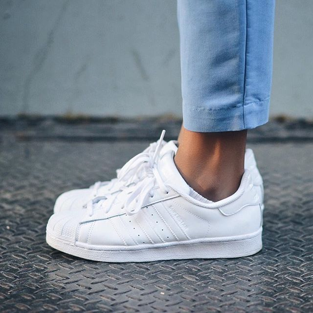 Femme Superstar Sneakers Tendance Adidas Basket 2017 White nOXN0Pk8wZ