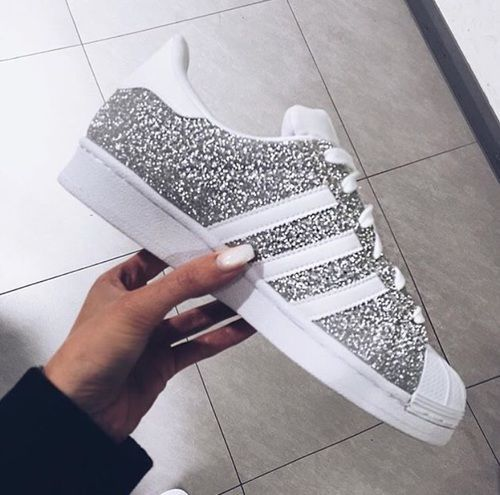 Description. Tendance Basket Femme 2017- Adidas Superstar à paillettes …