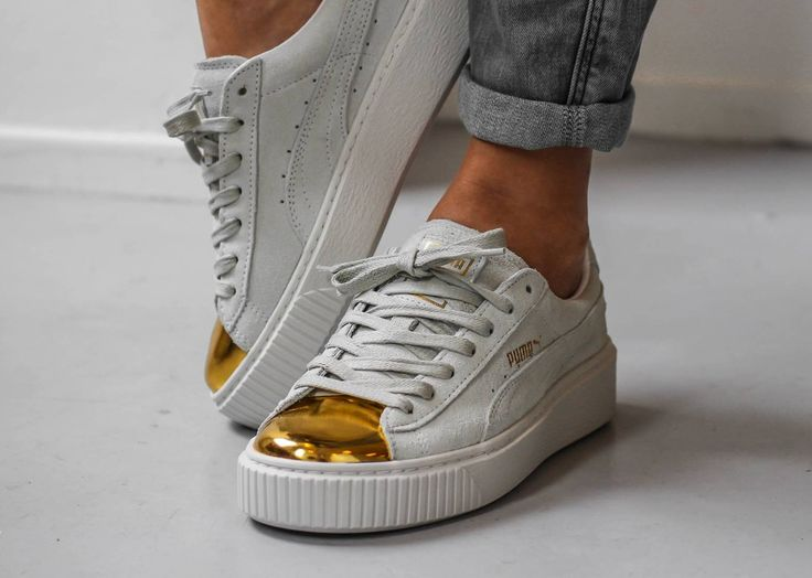 Tendance Basket 2017 white Puma Fenty Creepers with black