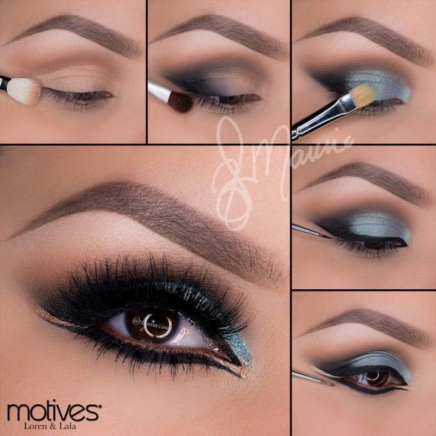 Tendance maquillage yeux 2017 2018 16 must see eye makeup pictorials - Tendance make up 2017 ...