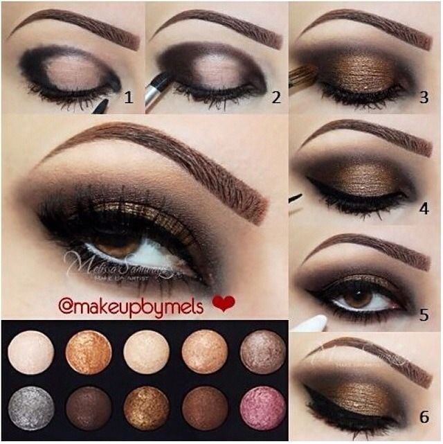 Maquillage yeux marrons 2018 - Maquillage simple yeux marrons ...