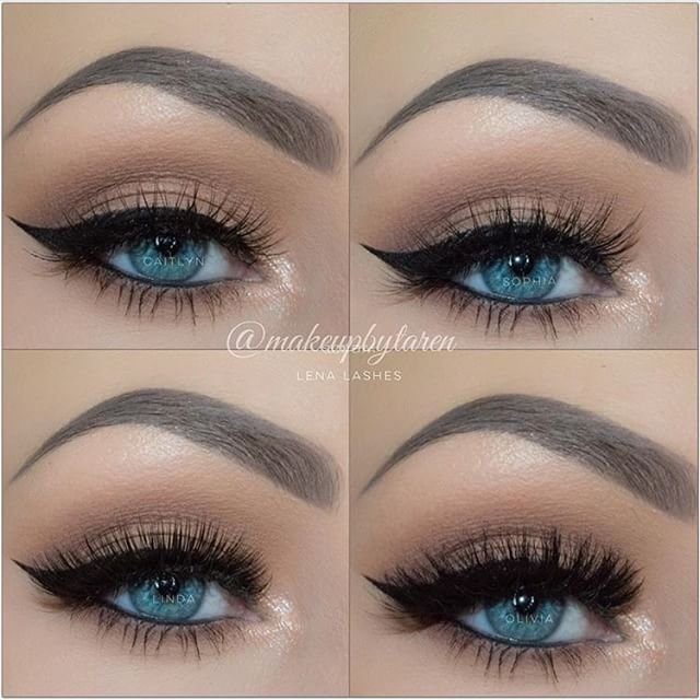 Neutral Makeup Looks For Blue Eyes