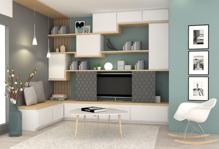 D co salon petit d tour l 39 isle d 39 abeau marion lano architecte d 39 int r listspirit - Salon petit espace ...