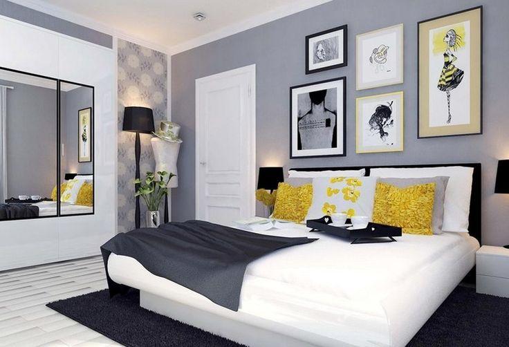 D co salon couleur de peinture pour chambre gris taupe - Idee peinture chambre ...