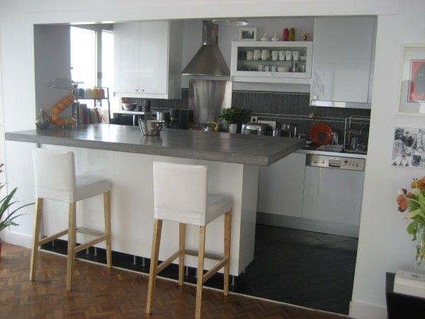 D co salon cuisine ouverte leading - Deco salon et cuisine ouverte ...