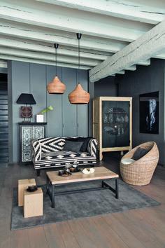 D co salon stone living prestige estate agency Salon ethnique chic