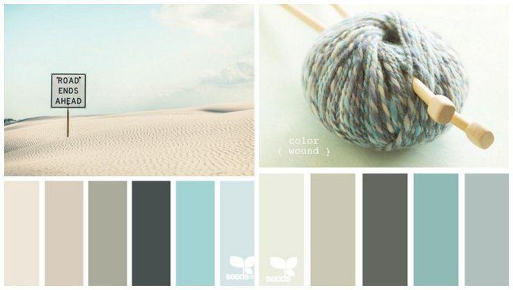 D co salon les nuances douces pour la cuisine moderne couleur sable bleu ou gris for Cuisine couleur sable