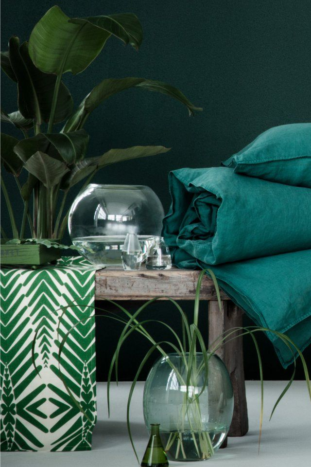 d co salon nouveaut s h m home 2016 l 39 urban jungle aux couleurs aqua marie cla. Black Bedroom Furniture Sets. Home Design Ideas