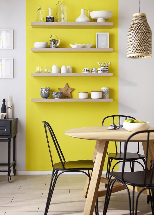 D co salon peinture murs et boiseries colours classic duvet satin 27 95 euros le pot de 2 - Idee deco peinture cuisine ...