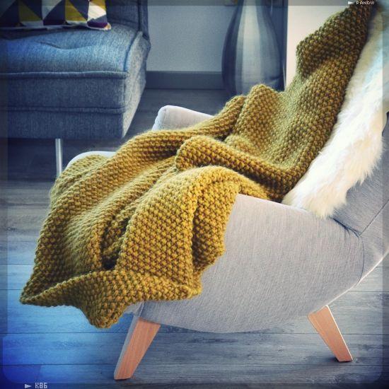 Plaid fauteuil cheap maisonlinge de de fauteuil - Plaid polaire ikea ...
