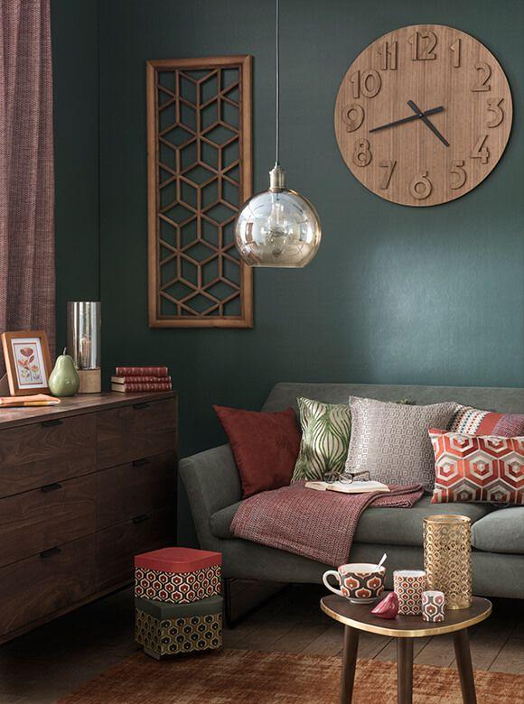 d co salon tendance d co seventies id e d co et. Black Bedroom Furniture Sets. Home Design Ideas