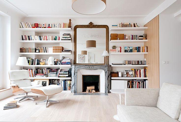Déco Salon - THE Architectes - appartement haussmannien ...