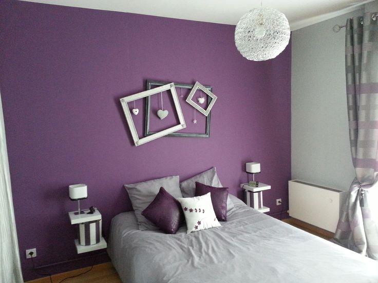 Déco Salon - Déco intérieur violet | photo-decoration-déco-cuisine ...