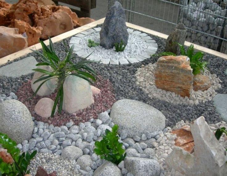 Idée relooking cuisine - jardin avec cailloux | Du gravier ...