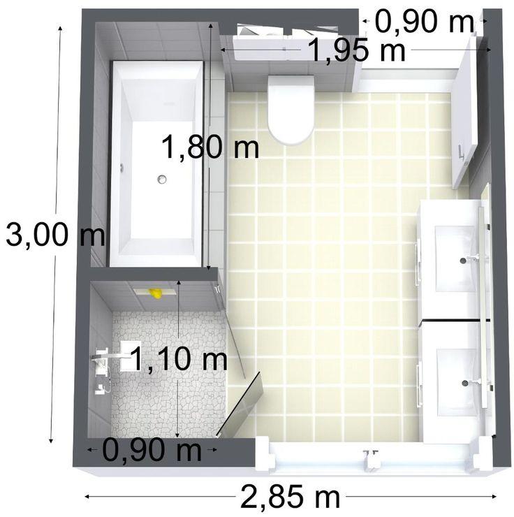 id e d coration salle de bain bathroom floor plan leading inspiration. Black Bedroom Furniture Sets. Home Design Ideas