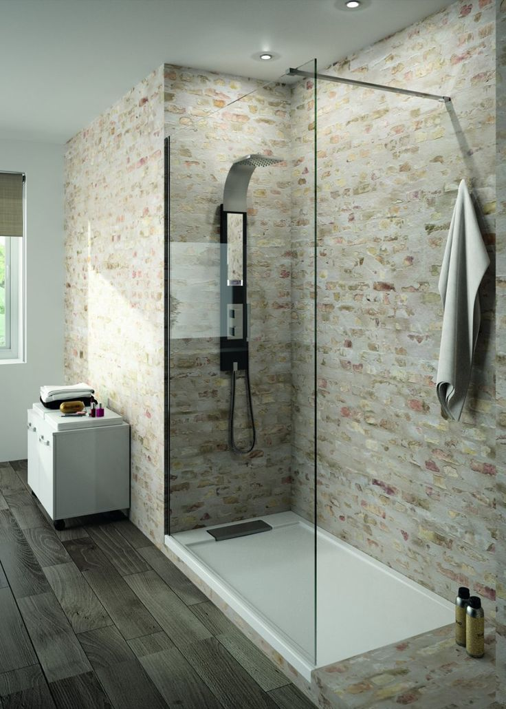 Id e d coration salle de bain douche italienne www m for Decoration de douche