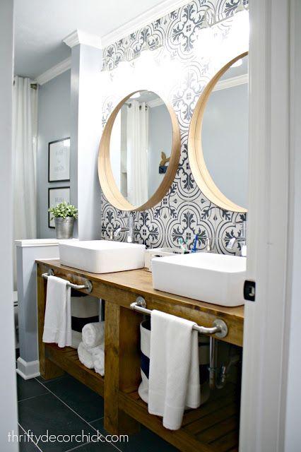 Id e d coration salle de bain incredible bathroom - Renovation salle de bain deductible des impots 2017 ...