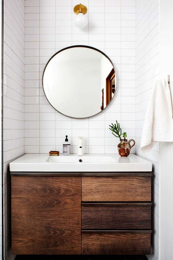 Souvent Idée décoration Salle de bain - La folie des miroirs ronds  FZ31