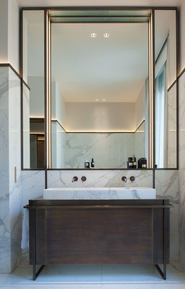 id233e d233coration salle de bain l�appartement parisien de