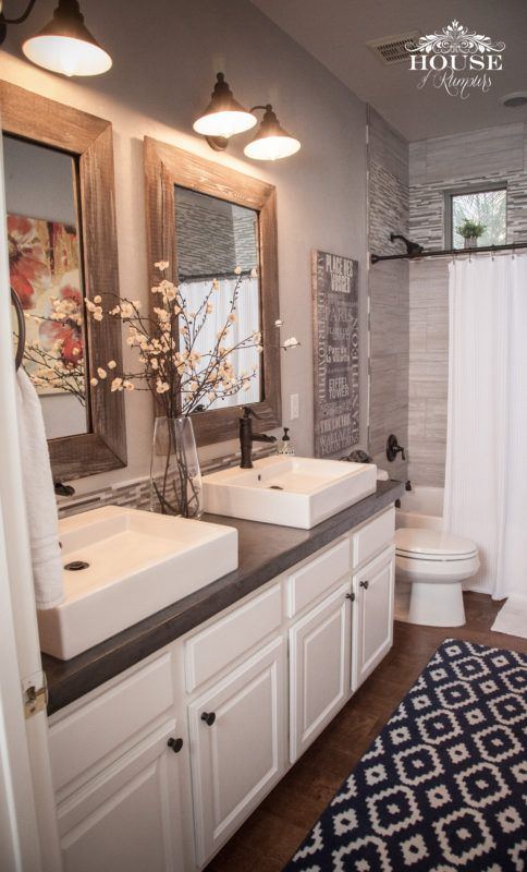 pinterest bathroom mirror id 233 e d 233 coration salle de bain the rustic accents 13982