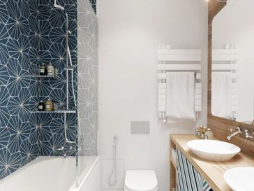 id e d coration salle de bain petite salle de bains. Black Bedroom Furniture Sets. Home Design Ideas