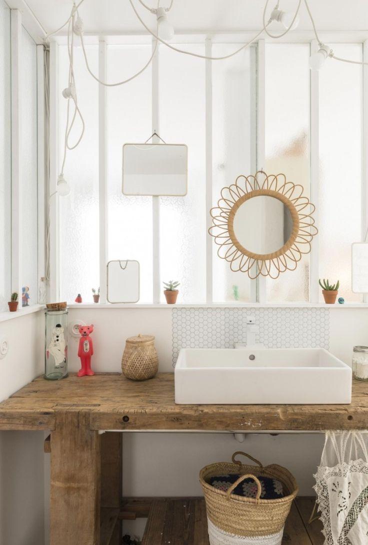 idée décoration salle de bain - maison-deco-tendance-vintage