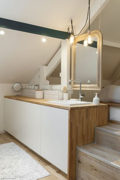 Idée décoration Salle de bain - Meuble de salle de bains avec ...
