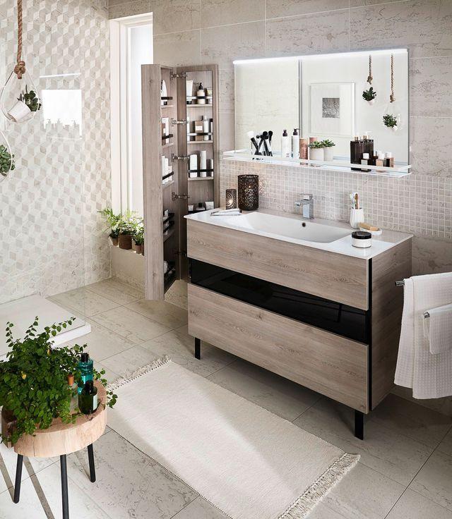 id e d coration salle de bain meuble de salle de bains en bois equivok. Black Bedroom Furniture Sets. Home Design Ideas