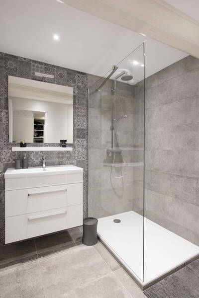 Id e d coration salle de bain miniature maison de for Tendance petite salle de bain