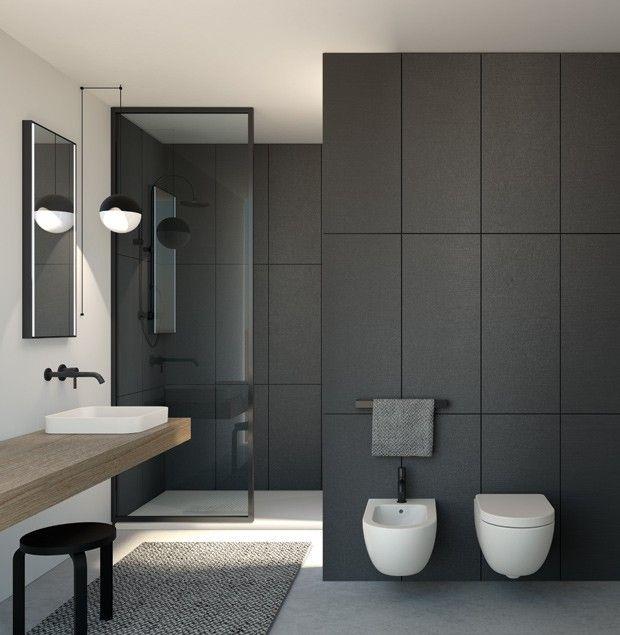 emejing style de salle de bain moderne pictures amazing house design. Black Bedroom Furniture Sets. Home Design Ideas