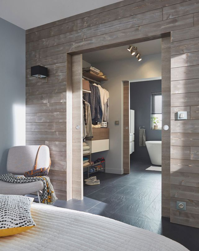 id e d coration salle de bain porte en bois summa matrix. Black Bedroom Furniture Sets. Home Design Ideas