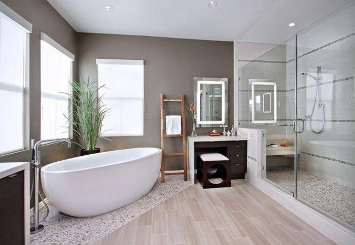 Idée décoration Salle de bain - salle de bain zen bambou deco ...