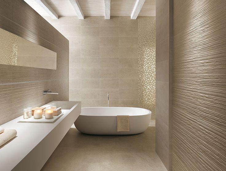Idée décoration Salle de bain - Idée carrelage salle de bain d ...