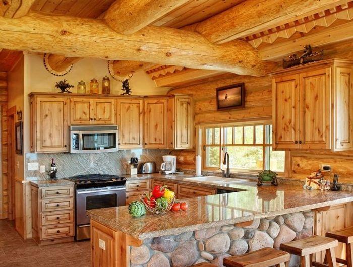 Relooker cuisine chene massif - Relooker sa cuisine en bois ...