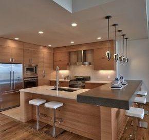 Id e relooking cuisine beau mod le de cuisine avec garde - Extraordinaires idees declairage cuisine ...