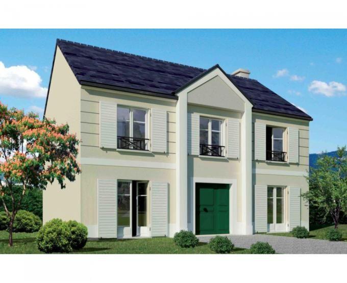 id e relooking cuisine cette maison r 1 moderne avec son fronton cintr comprenant au rdc une. Black Bedroom Furniture Sets. Home Design Ideas