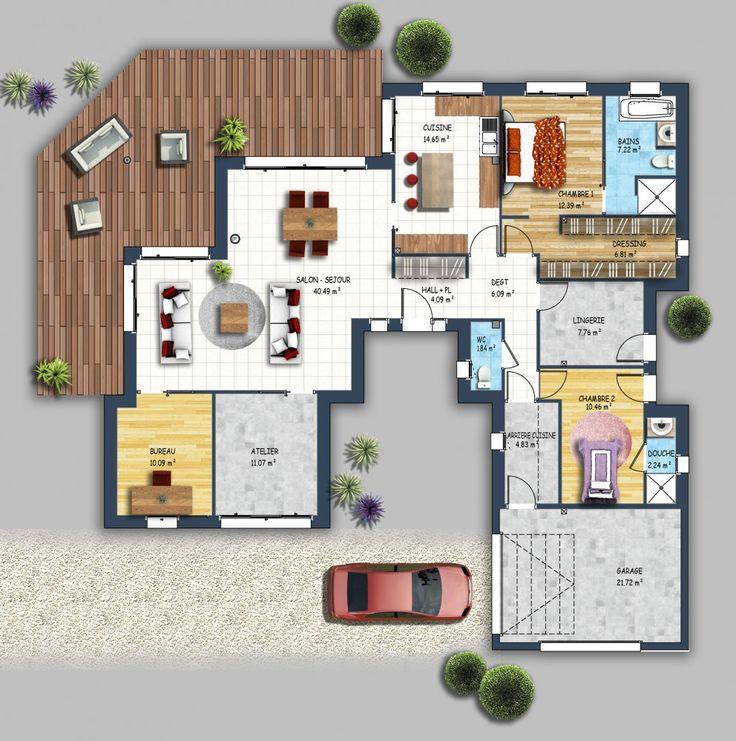 Id e relooking cuisine constructeur maison moderne for Meilleur constructeur maison 44