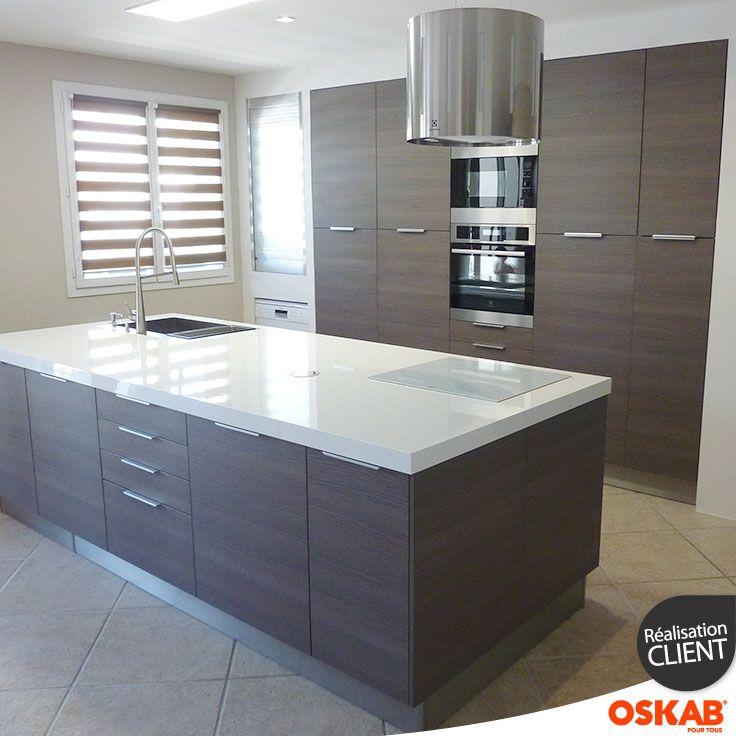 id e relooking cuisine cuisine ouverte ultra design mur. Black Bedroom Furniture Sets. Home Design Ideas