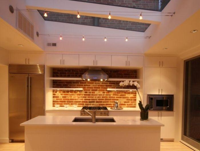 Id e relooking cuisine ilot centra ikea dans la cuisine for Idee plafond cuisine