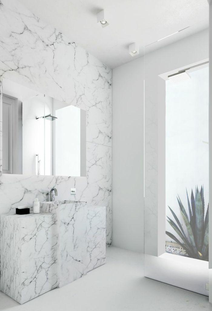 id e relooking cuisine jolie variante pour la salle de bain en marbre modeles salles de bains. Black Bedroom Furniture Sets. Home Design Ideas
